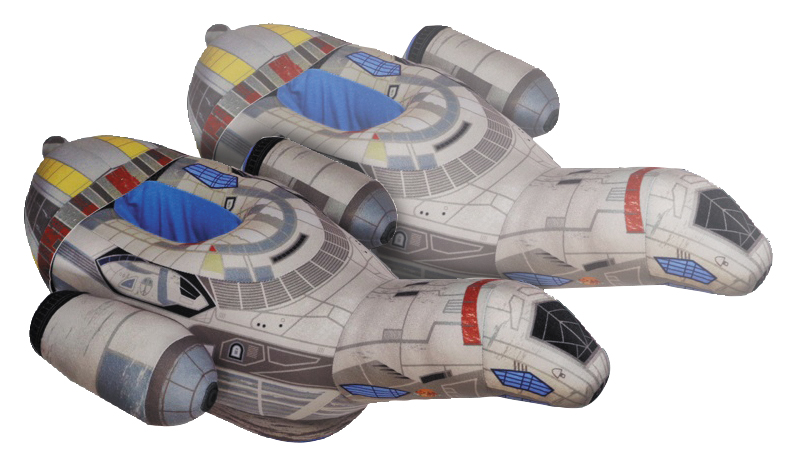 Firefly: Serenity Plush Slippers Box Front