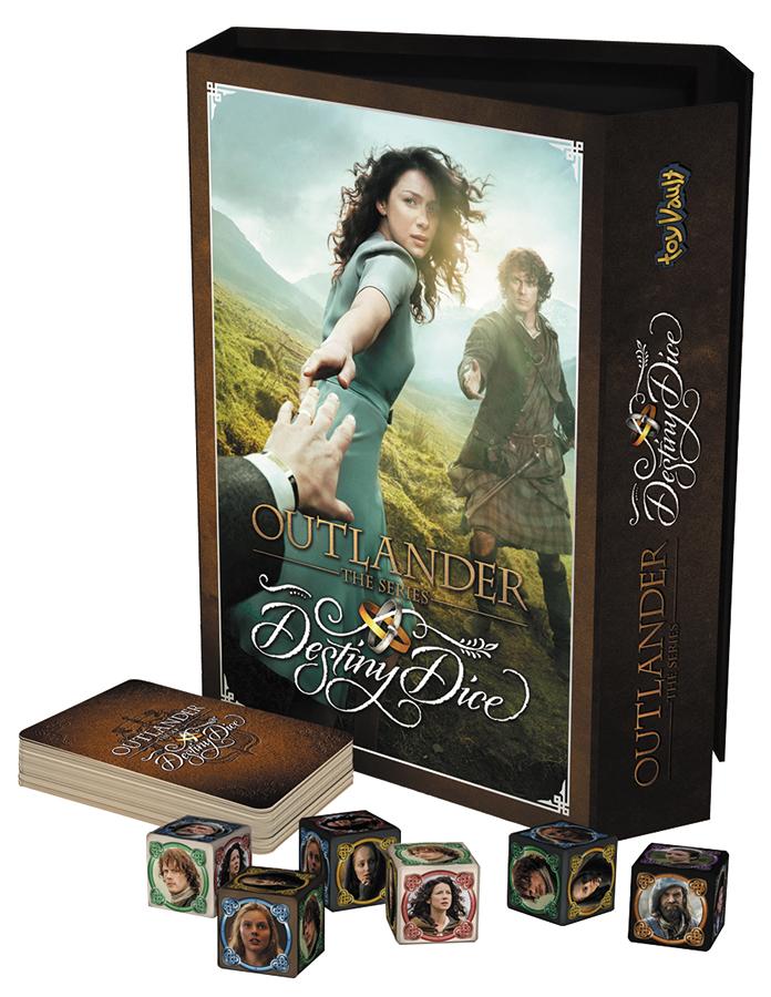 Outlander: Destiny Dice Game Box Front