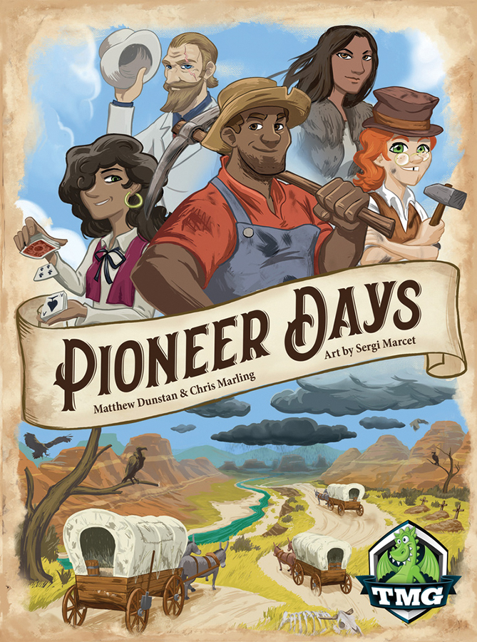 Pioneer Days Box Front
