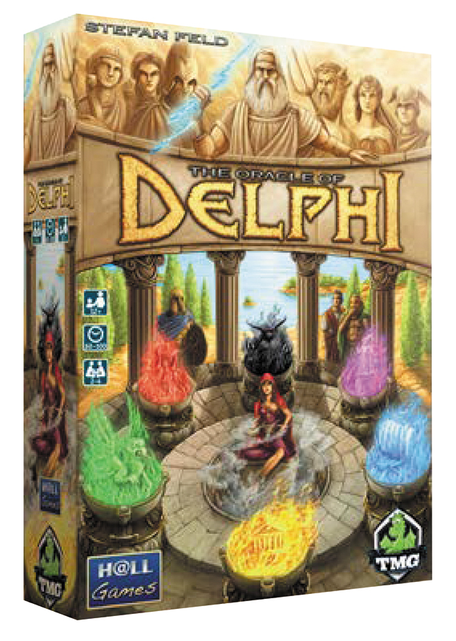The Oracle Of Delphi Box Front