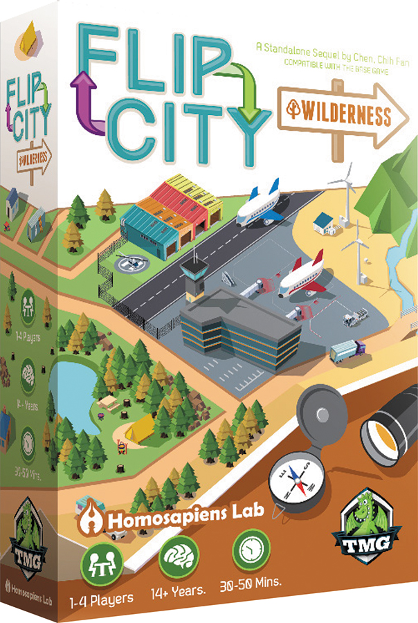 Flip City: Wilderness Box Front