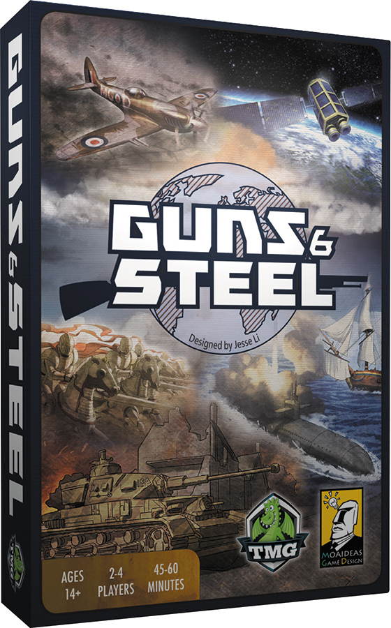 Guns And Steel Box Front