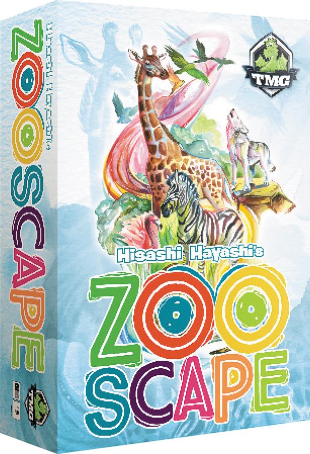 Zooscape (aka Curio Collector) Box Front