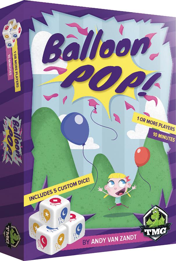 Balloon Pop Box Front
