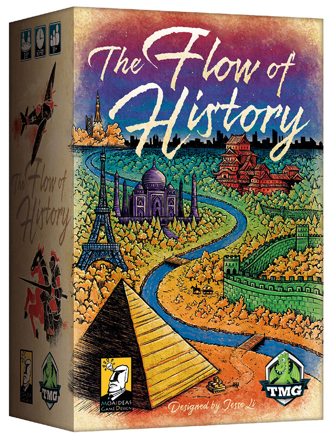 The Flow Of History Box Front