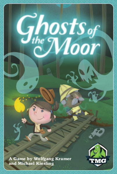 Ghosts Of The Moor Game Box