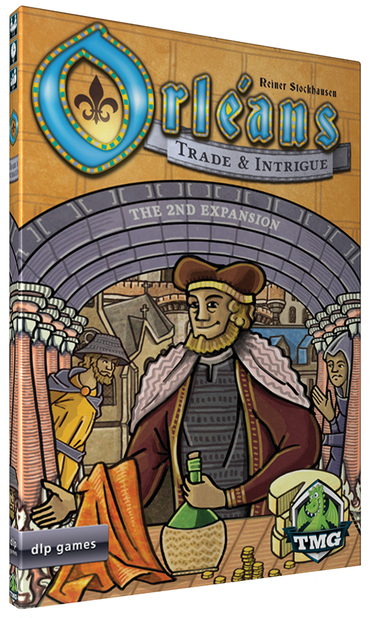 Orleans: Trade & Intrigue Box Front