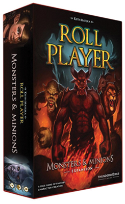 Roll Player: Monsters & Minions Expansion Box Front