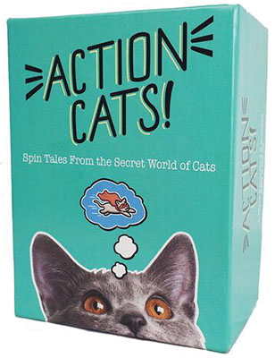 Action Cats! Game Box
