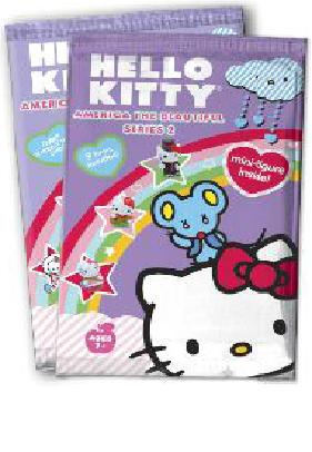 Hello Kitty America The Beautiful Trading Cards Series 2 Pack Box Front