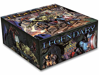 Legendary Dbg: Marvel Core Set Box Front