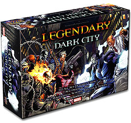 Legendary Dbg: Dark City Expansion Box Front
