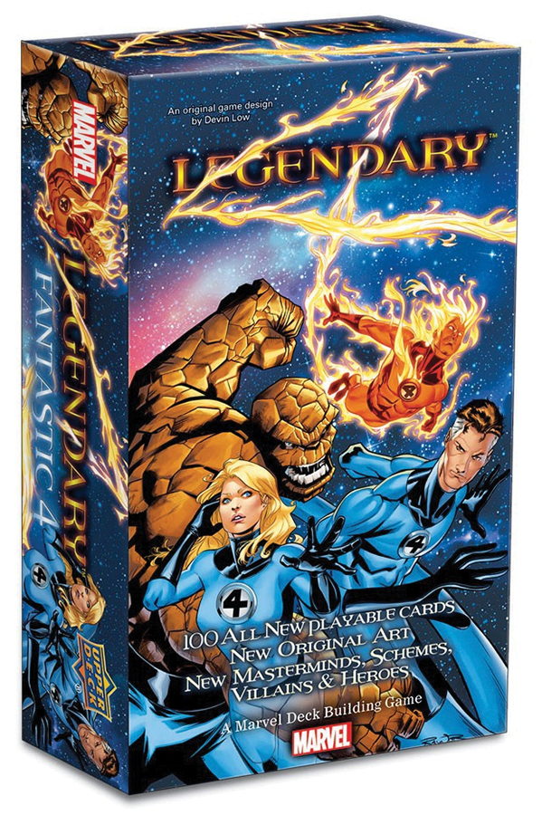 Legendary Dbg: Fantastic Four Expansion Box Front