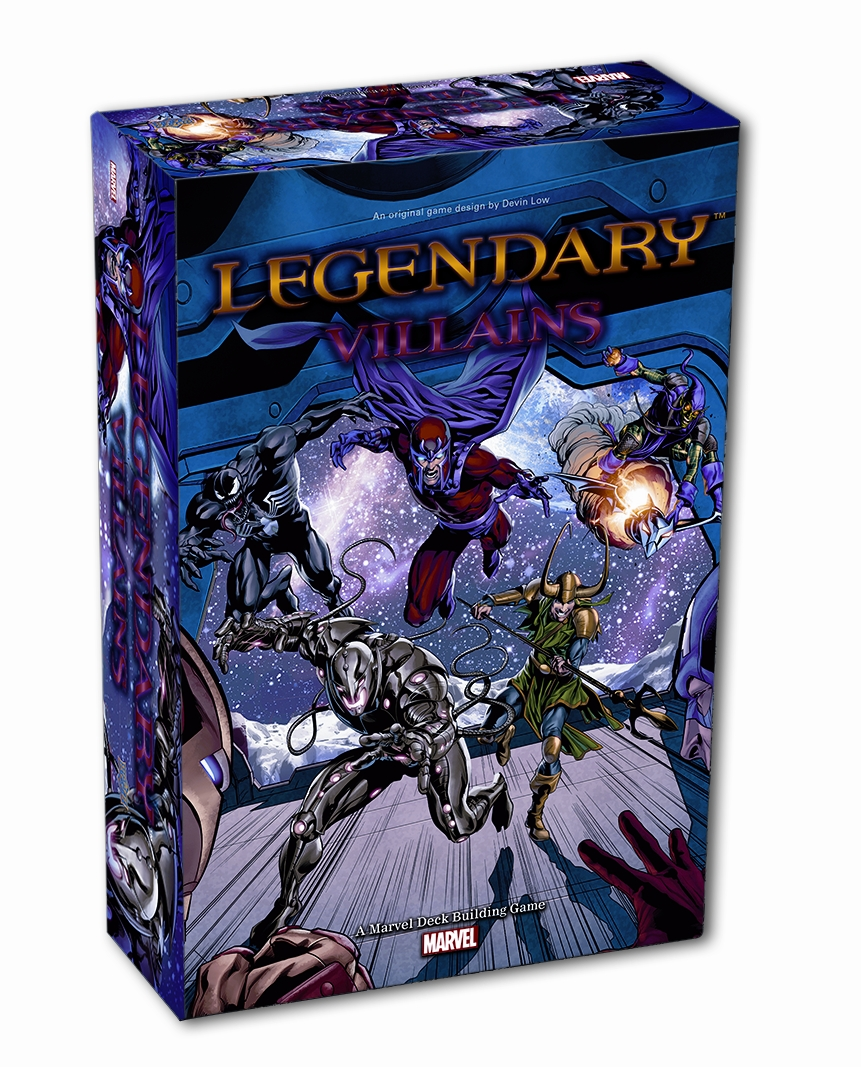 Legendary Villains Dbg: Marvel Core Set Box Front