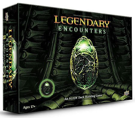 Legendary Encounters Dbg: Alien Core Set Box Front