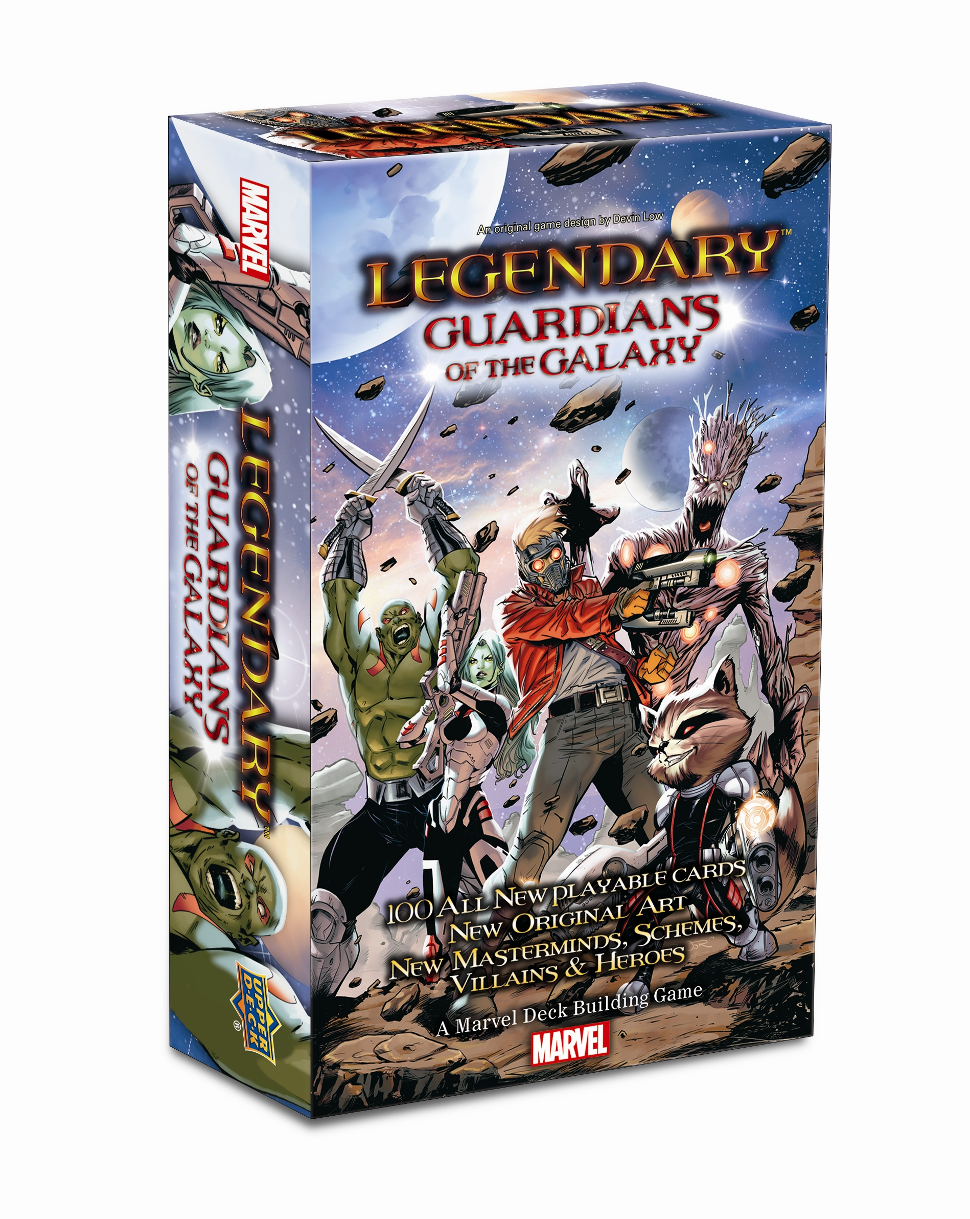 Legendary Dbg: Guardians Of The Galaxy Expansion Box Front