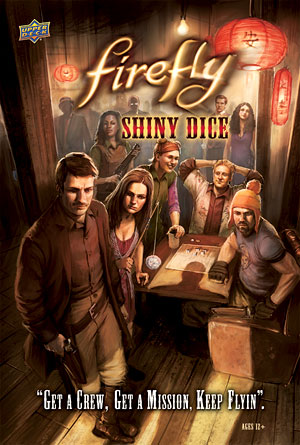 Firefly: Shiny Dice Game Box Front