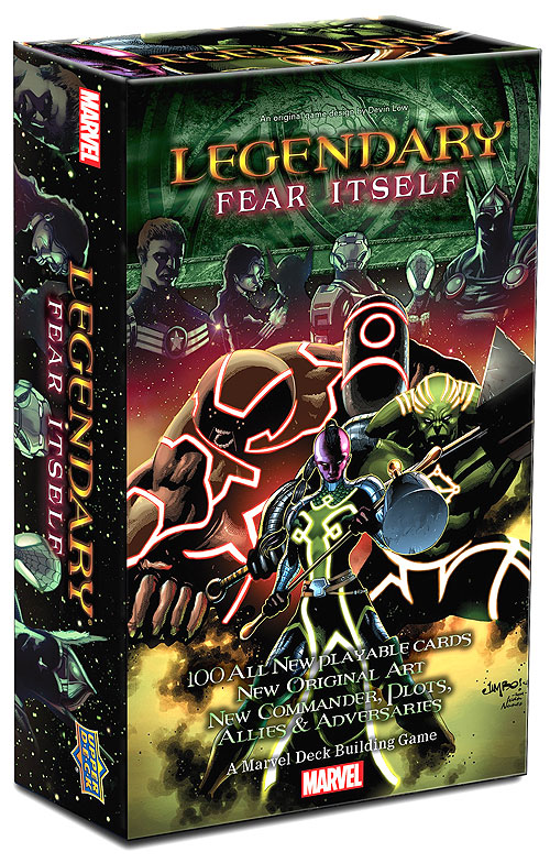 Legendary Villains Dbg: Marvel Fear Itself Expansion Box Front