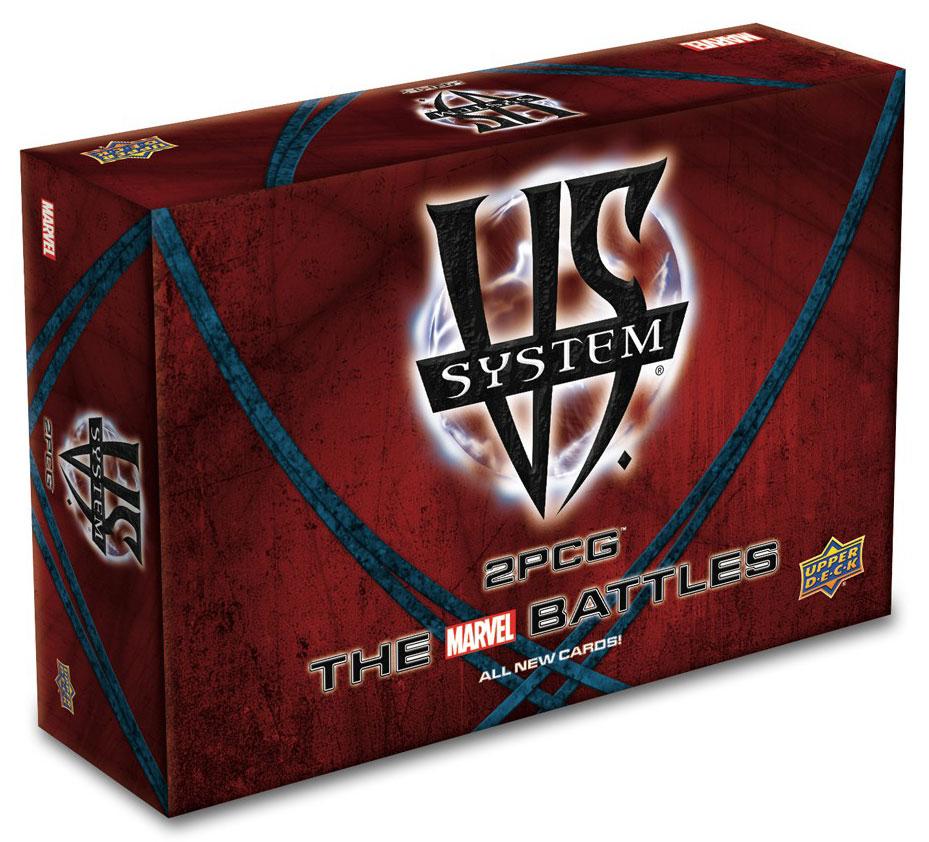 Vs System 2pcg: Marvel Battles Box Front