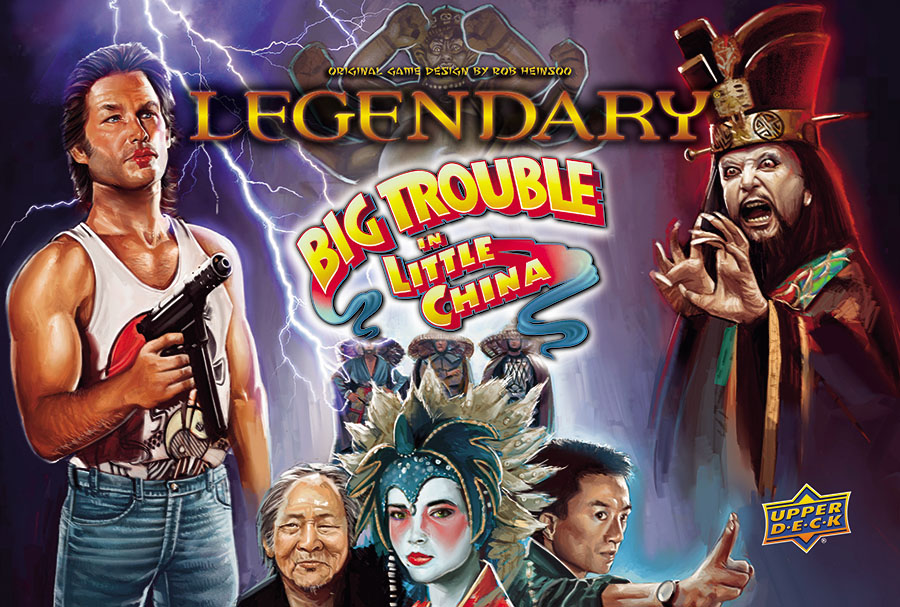 Legendary Dbg: Big Trouble In Little China (stand Alone) Box Front