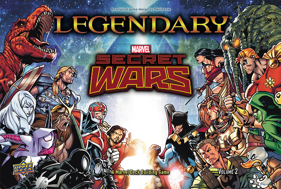 Legendary Dbg: Marvel Secret Wars Volume 2 Box Front