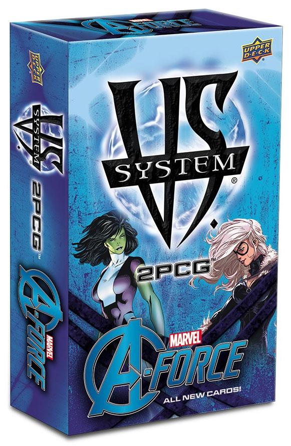 Vs System 2pcg: Marvel A-force Expansion Box Front