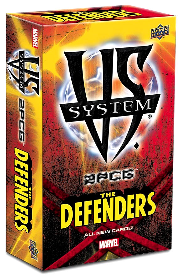 Vs System 2pcg: Marvel Defenders Expansion Box Front