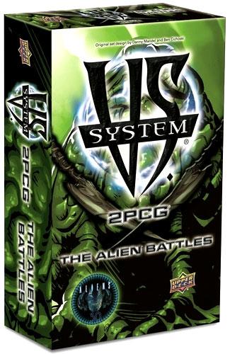 Vs System 2pcg: The Alien Battles Box Front