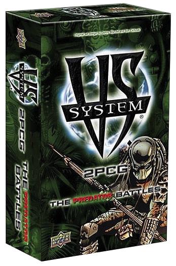 Vs System 2pcg: The Predator Battles Box Front