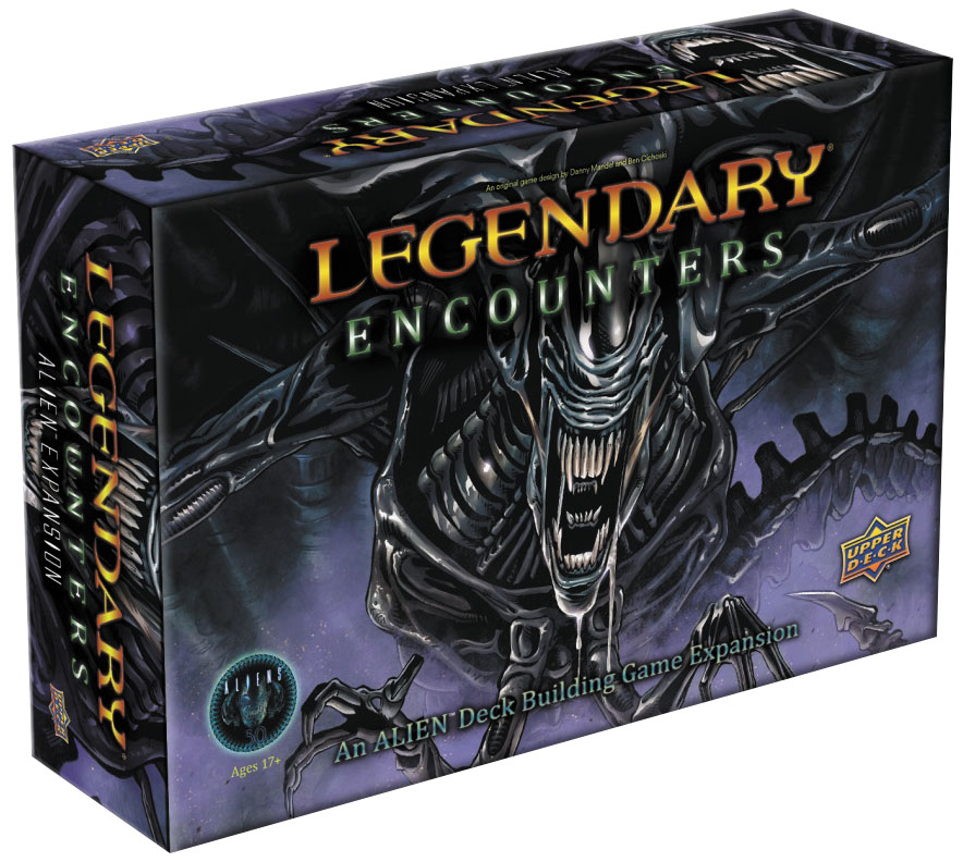 Legendary Encounters Dbg: Alien Expansion Box Front