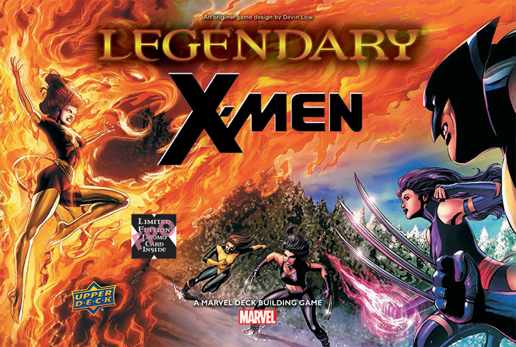 Legendary Dbg: X-men Expansion Box Front