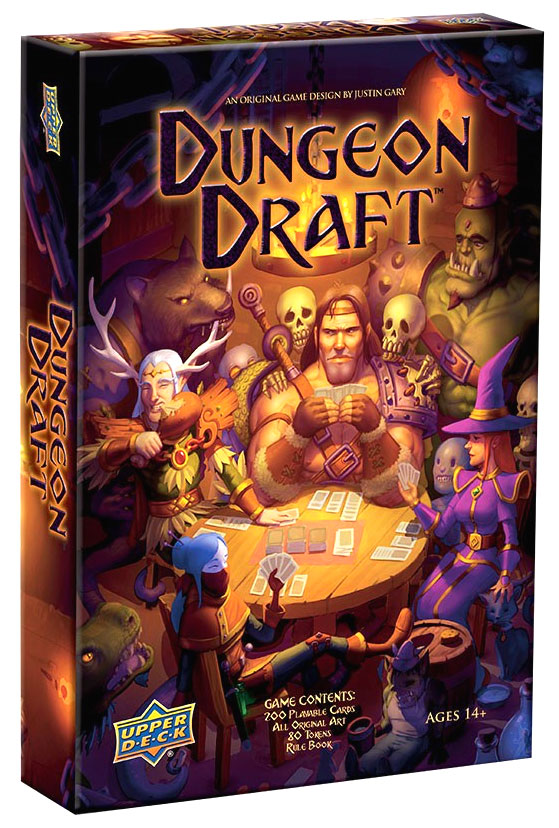 Dungeon Draft Box Front