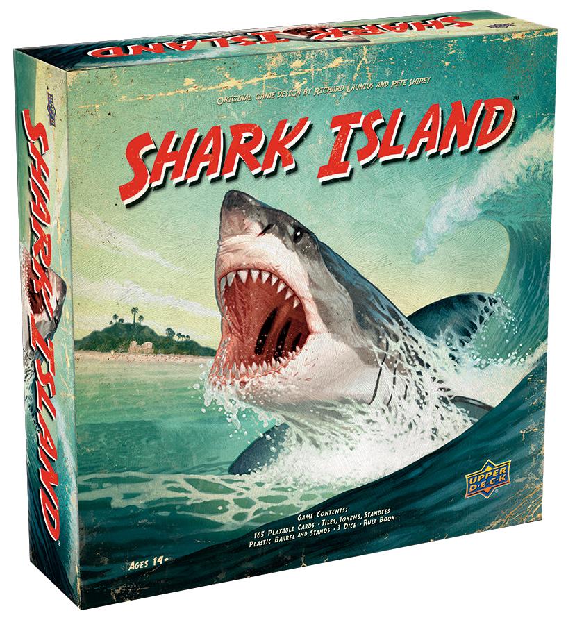 Shark Island Box Front