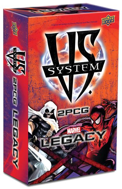 Vs System 2pcg: Marvel Legacy Box Front
