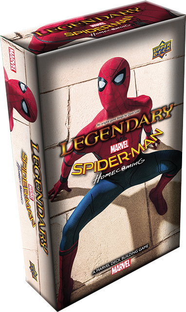 Legendary Dbg: Marvel Spider-man Homecoming Expansion Box Front