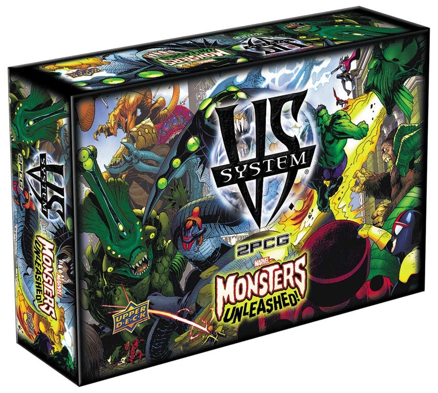 Vs System 2pcg: Marvel Monsters Unleashed Box Front