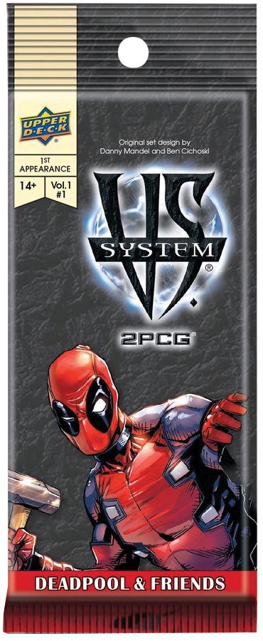 Vs System 2pcg: Deadpool & Friends Box Front