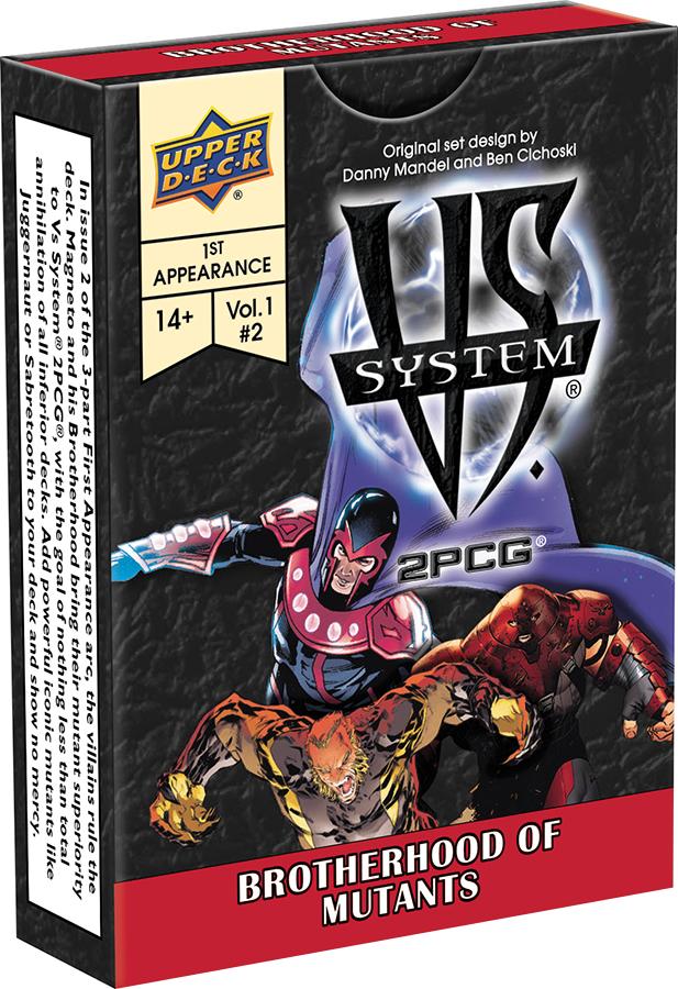 Vs System 2pcg: Brotherhood Of Mutants Box Front