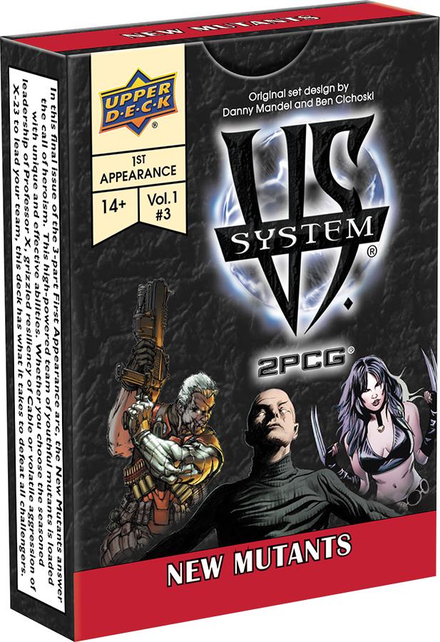 Vs System 2pcg: New Mutants Box Front