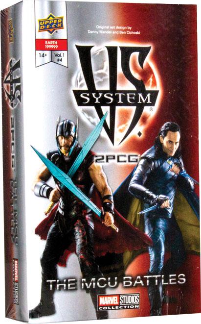 Vs System 2pcg: Mcu Battles Game Box