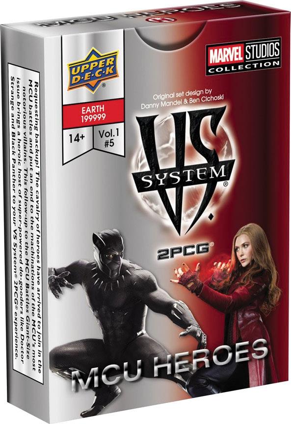 Vs System 2pcg: Mcu Heroes Game Box