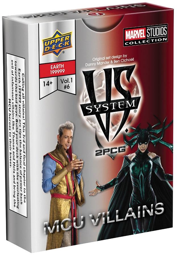 Vs System 2pcg: Mcu Villains Game Box