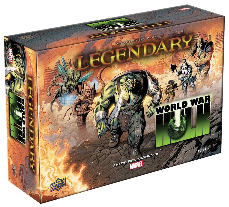 Legendary Dbg: World War Hulk Expansion Game Box