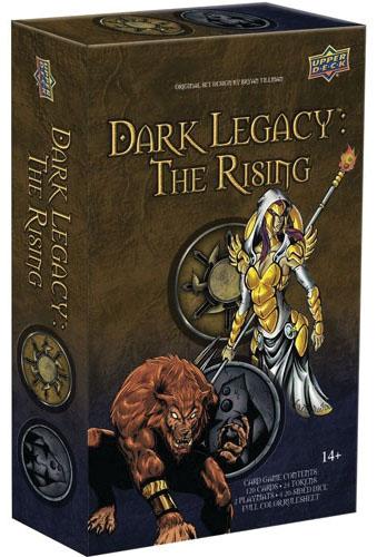 Dark Legacy: The Rising - Darkness Vs Divine Starter Set Game Box