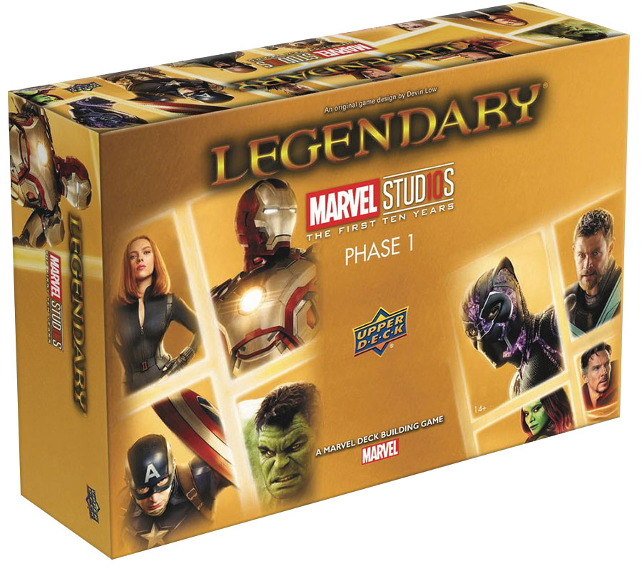 Legendary Dbg: Marvel Studios 10th Anniversary Game Box