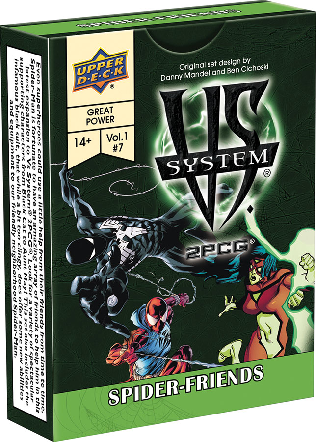 Vs System 2pcg: Spider Friends Game Box