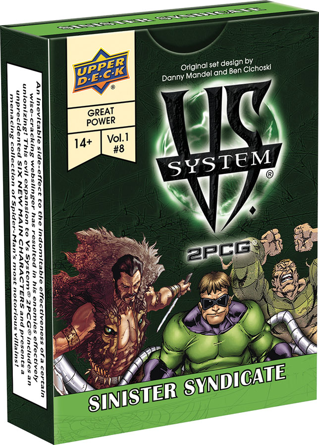 Vs System 2pcg: Sinister Syndicate Game Box