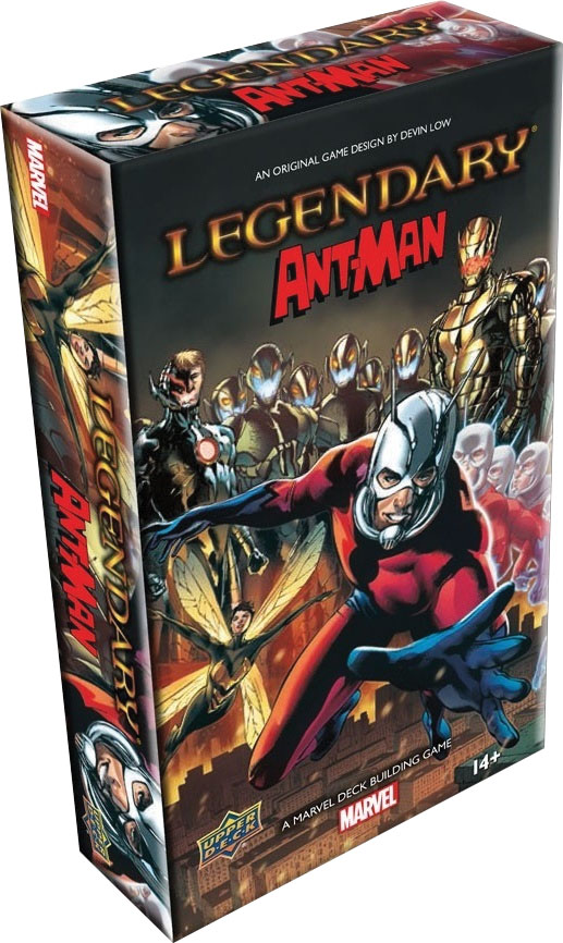 Marvel Legendary Dbg: Ant-man Expansion Game Box