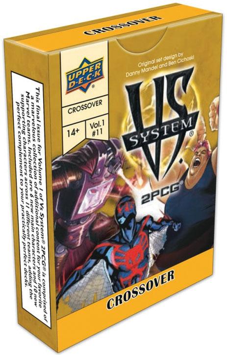 Vs System 2pcg: Marvel Crossover Volume 1 Game Box