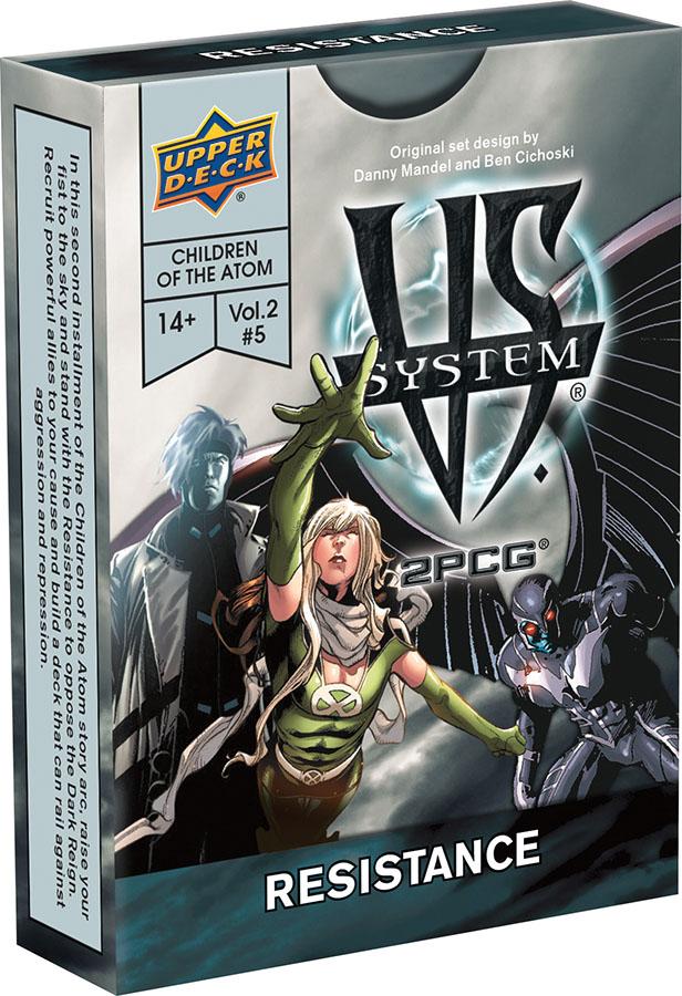Vs System 2pcg: Marvel Children Of The Atom - Resistance Game Box